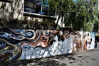 Launceston Street Art   Mural by Josh Foley