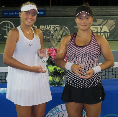 Kenin, 17, capitalizes on Min meltdown for title