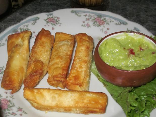 Receta de tequeños de queso Gastronomía peruana Perú