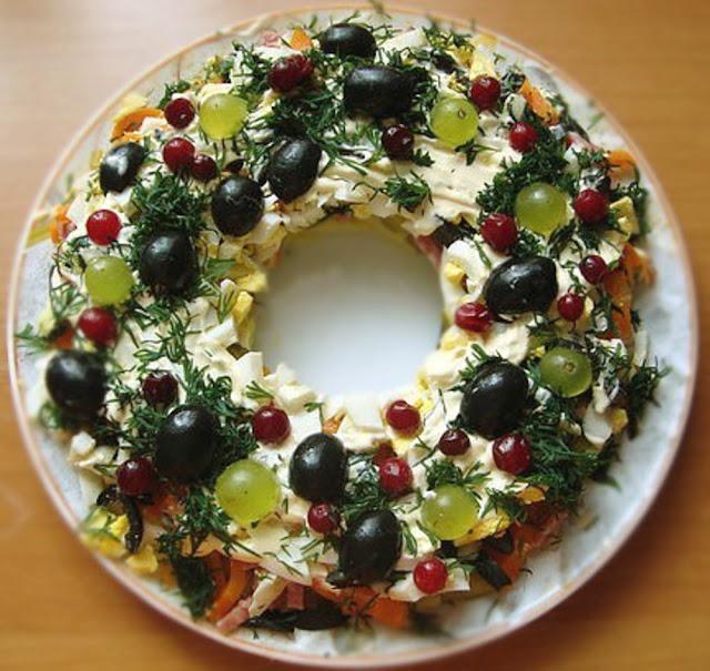 Изумительный салатик  Уральские  Самоцветы картинка
