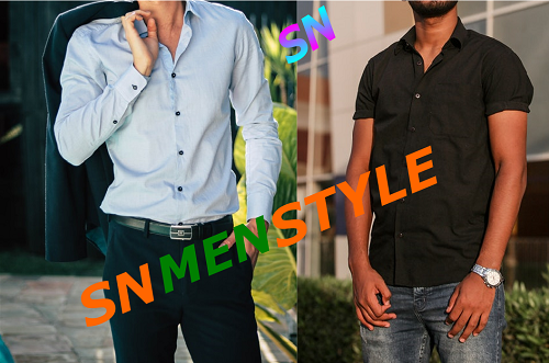 FORMAL MEN CLOTHING VS SIMPLE MEN CLOTHING FASHION