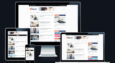 Template Blogger Premium Gratis 2019