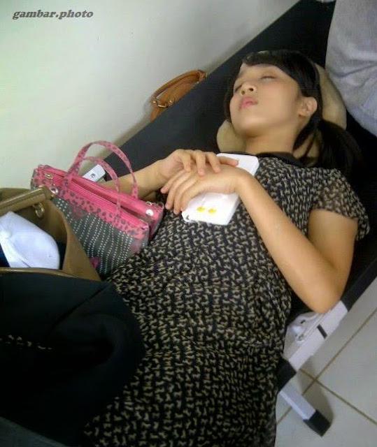 Achan member JKT48 tukang tidur