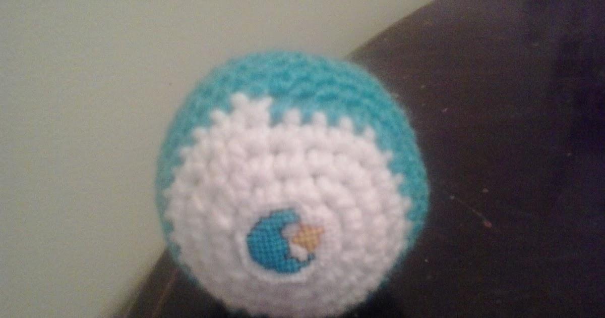 Crochet Fanatic: CARE BEAR BEDTIME BEAR BALL COVER