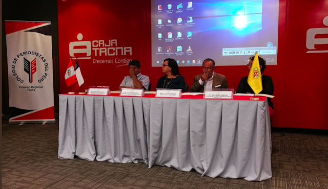 Colegio de Periodistas presente en seminario internacional sobre ética en Perú