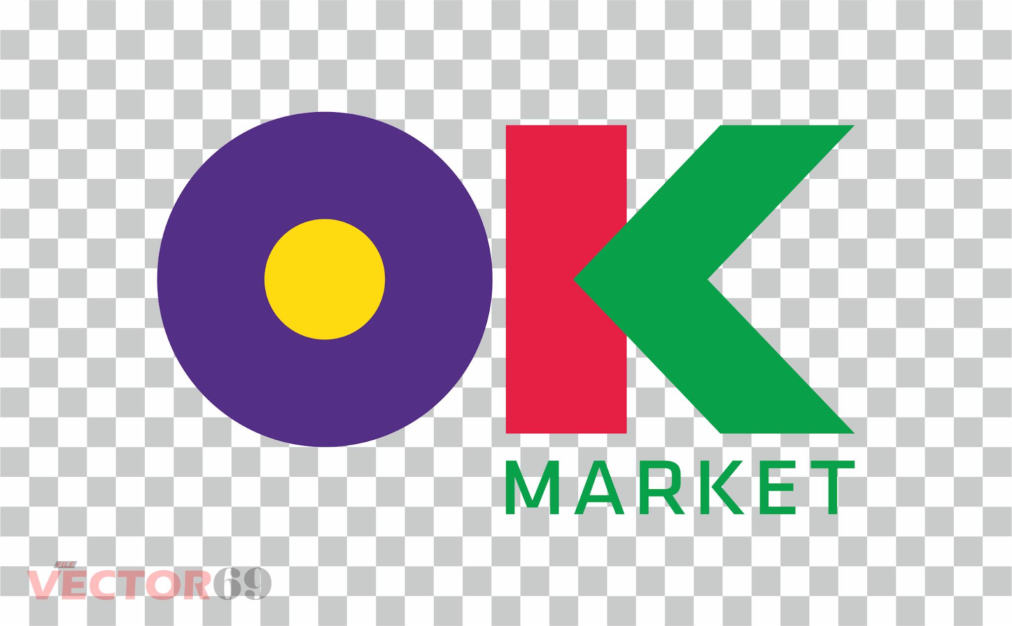 OK Market Logo - Download Vector File PNG (Portable Network Graphics)