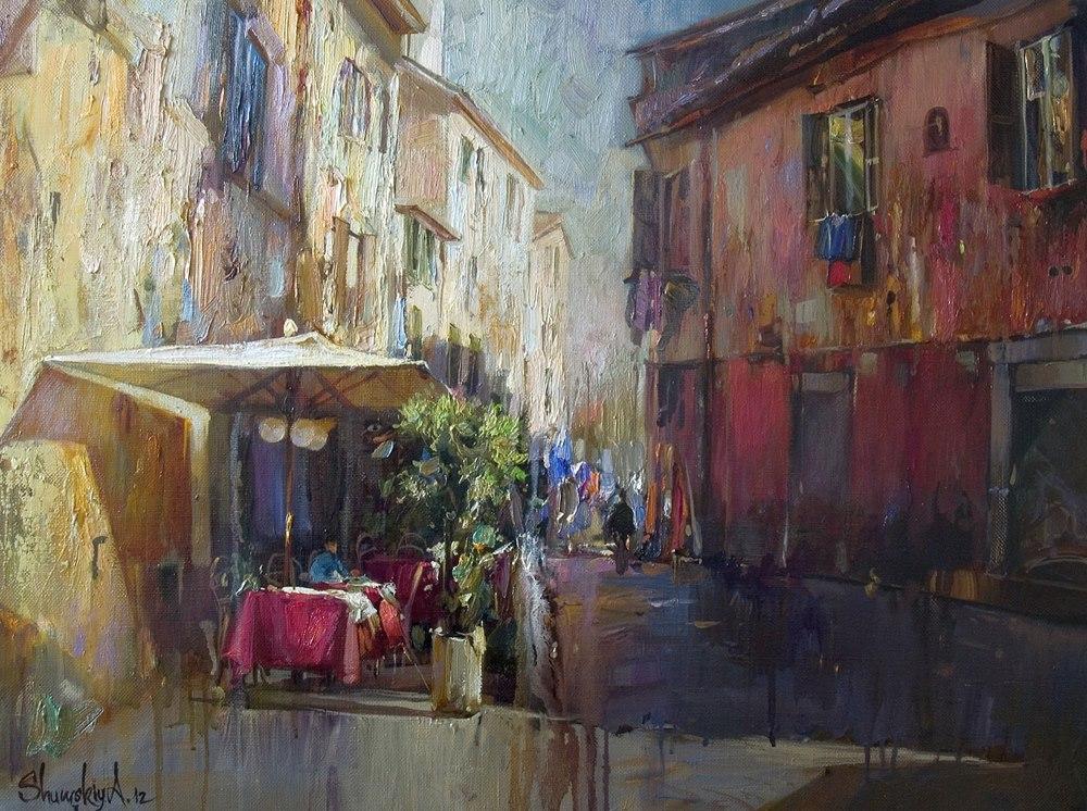 Andriy Shumskiy  -A Cityscape Painter