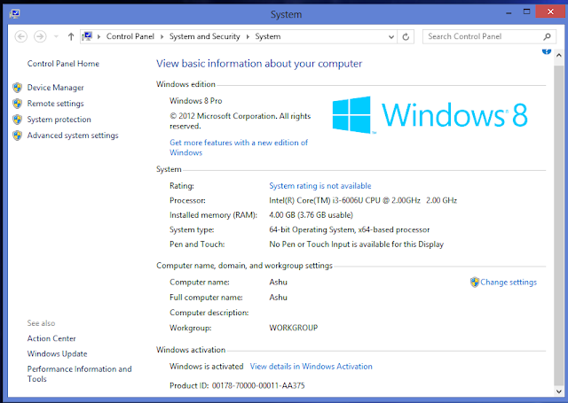 How to Activate windows 8/8.1 without product