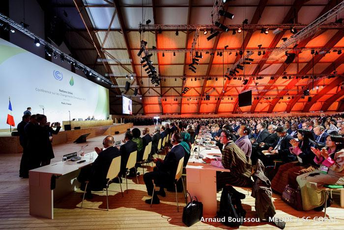 Luchando Contra el Cambio Climático. Cumbre del Clima de París
