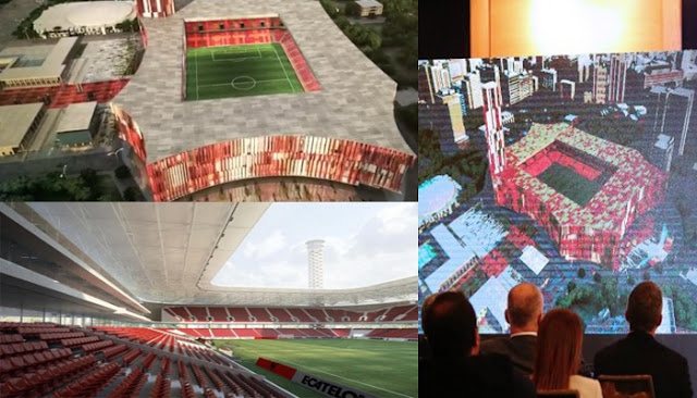 The stadium project changes, UEFA adds € 2 million more