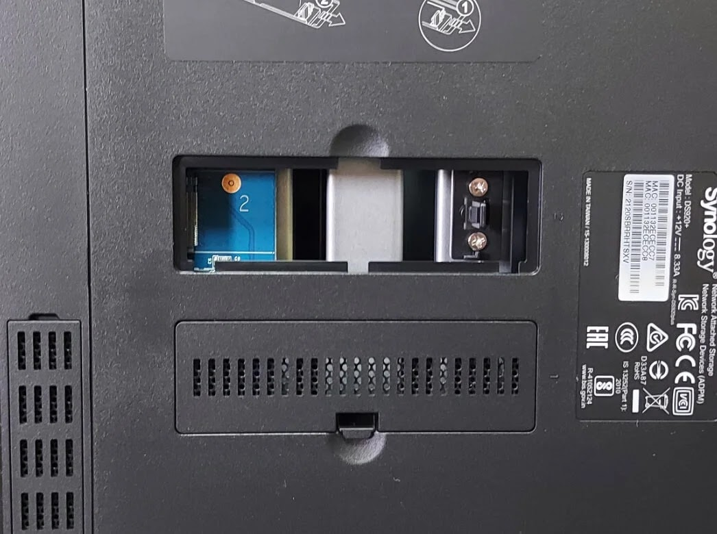 Synology DiskStation DS920+ M.2 NVMe Dual Slots