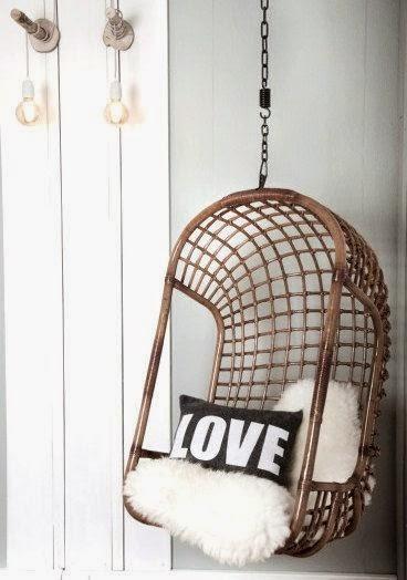 Hangstoel Egg Chair.Woon Geluk Egg Chair Hangstoel Eames Rocker