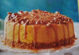 Slow Cooker Desserts  praline pumpkin cheesecake