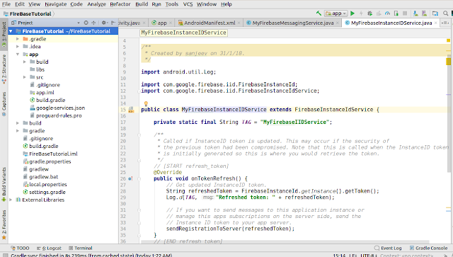 Firebase google-services.json