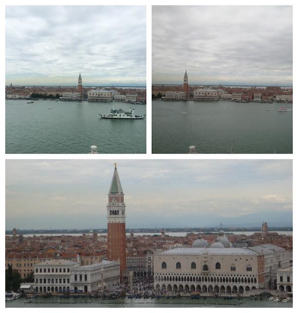 Veneza vista do Campanário de San Giorgio Maggiore