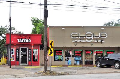 Rampage Tattoo  1425 Westheimer Rd, Houston, TX 77006 Cloud 9 Smokeshop