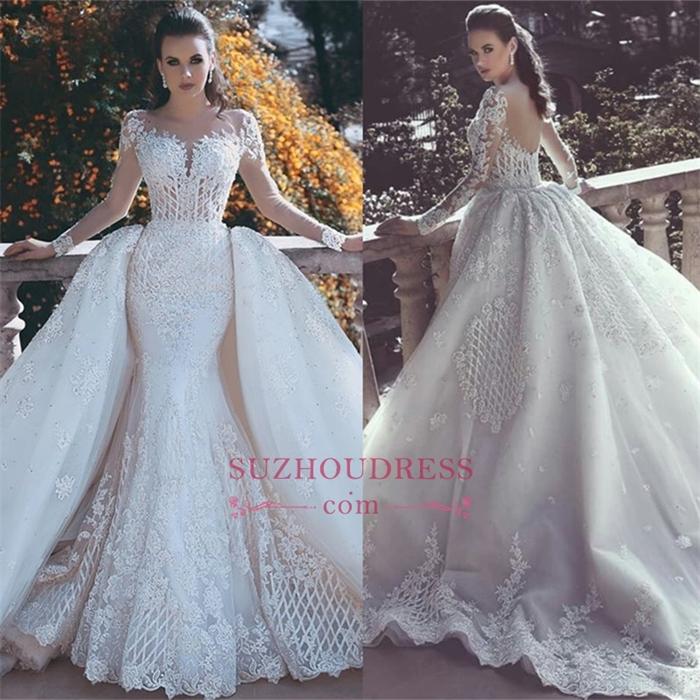 https://www.suzhoudress.com/i/long-sleeve-lace-appliques-luxurious-overskirt-long-train-wedding-dress-22156.html