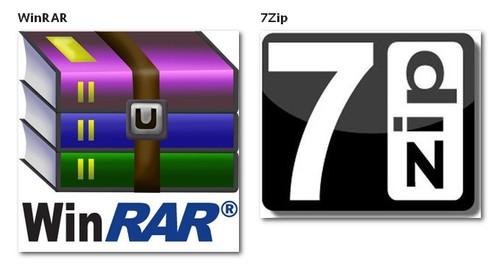 WinRar Dan 7-Zip