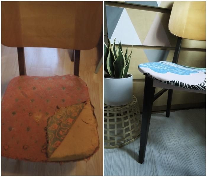 odnawiamy stare krzesło