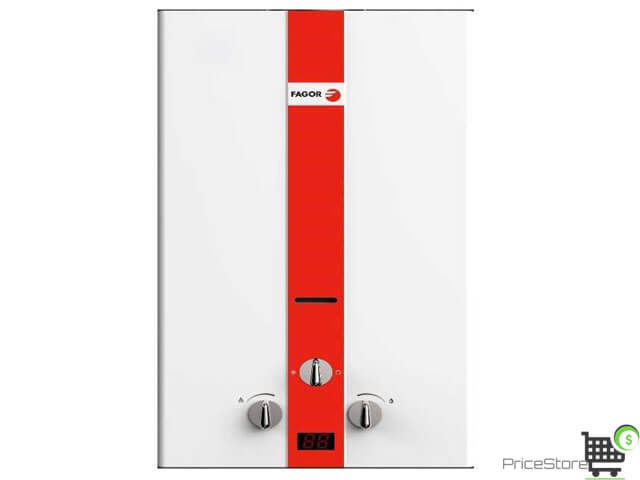 فاجور سخان غاز انبوبة 10 لتر ديجيتال FMH 10PGW