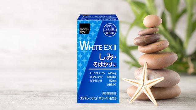 vien uong trang da tri nam White EX 270
