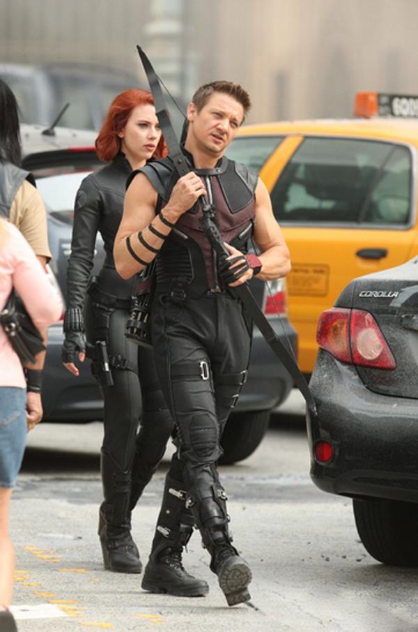 rodaje de los Vengadores en NY 1