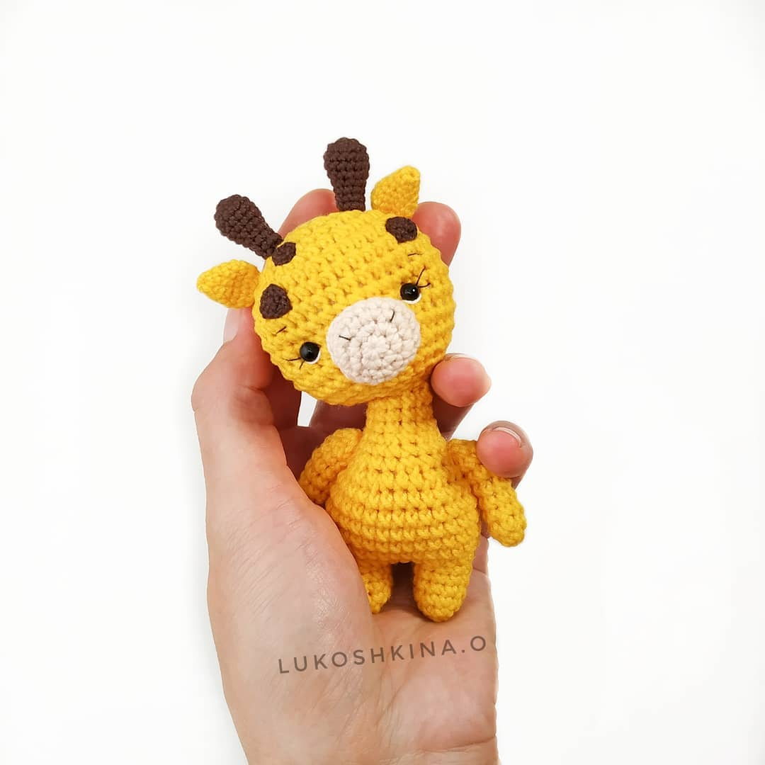 Crochet Baby Giraffe Amigurumi Free Patterns | 1080x1080