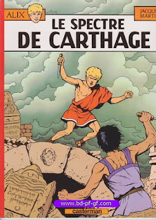 Alix, le spectre de Carthage, par Jacques Martin, 1977