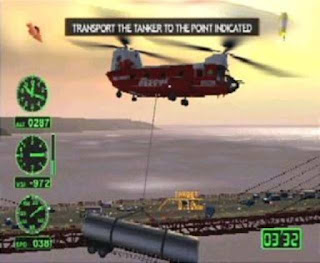 Air Ranger Rescue Helicopter 2 - PS2