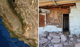 307 sismos han golpeado  California en solo 24 horas cerca de la falla de san andres.
