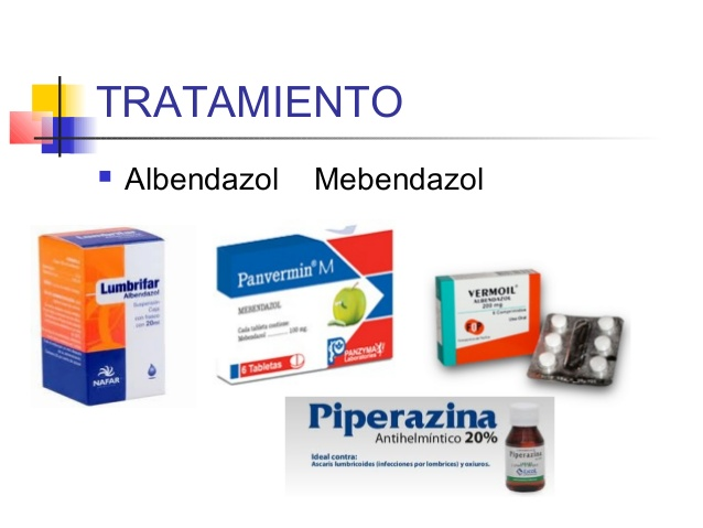 tratamiento por triquinosis