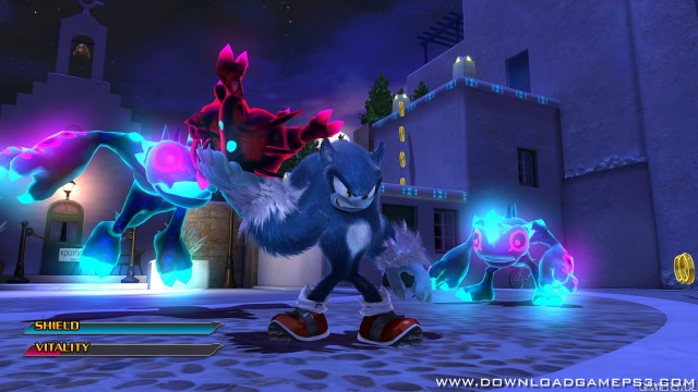 sonic unleashed  free game