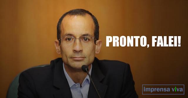 Vergonha nacional: Marcelo Odebrecht era o verdadeiro presidente do Brasil