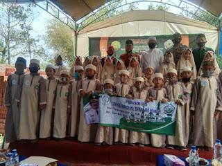 Peresmian Rumah Tahfidz  Al Qur'an TKQ, TPQ Dan DTA Al Huda Oleh Bupati Cirebon Drs. H. Imron Rosyadi, M.Ag
