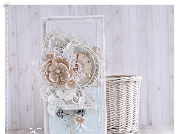 Shabby Chic Card & Video Tutorial
