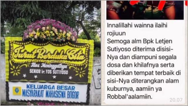 Beredar Isu Sutiyoso Meninggal, Keluarga: Tidak Benar!