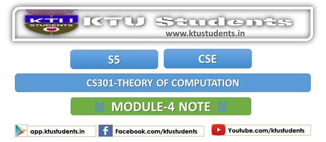 ktu cs301 module4