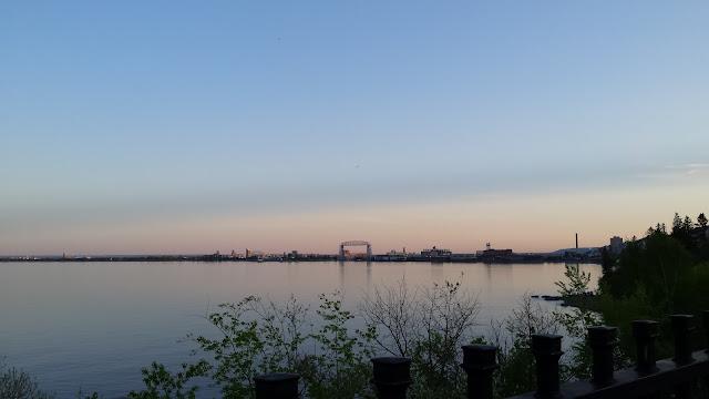 Lake Superior and Duluth, Minnesota