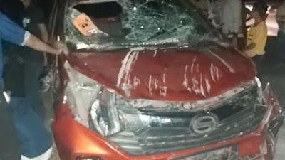 Kecelakaan Mobil di Palakka, Korban Dilarikan ke Rumah Sakit