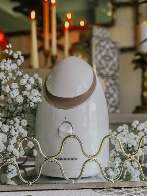 Panasonic Facial Steamer with Nano-ionic Technology product photography