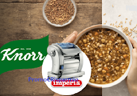 """Concorso """"Buon cibo Knorr"""" : in palio 76 macchine Imperia Pasta Presto"""