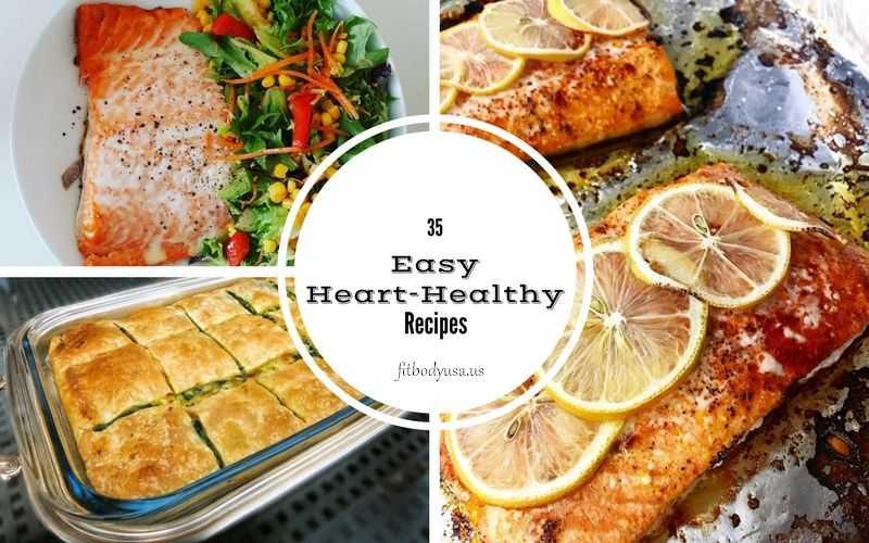35 Easy Heart Healthy Recipes
