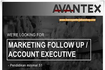 Lowongan Kerja Marketing Account Executive Avantex