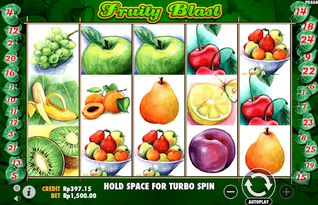 DAFTAR AGEN JUDI SLOT MESIN GAMES FRUITY BLAST