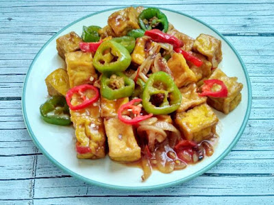 resep tumis tahu cabai hijau sederhana dan enak