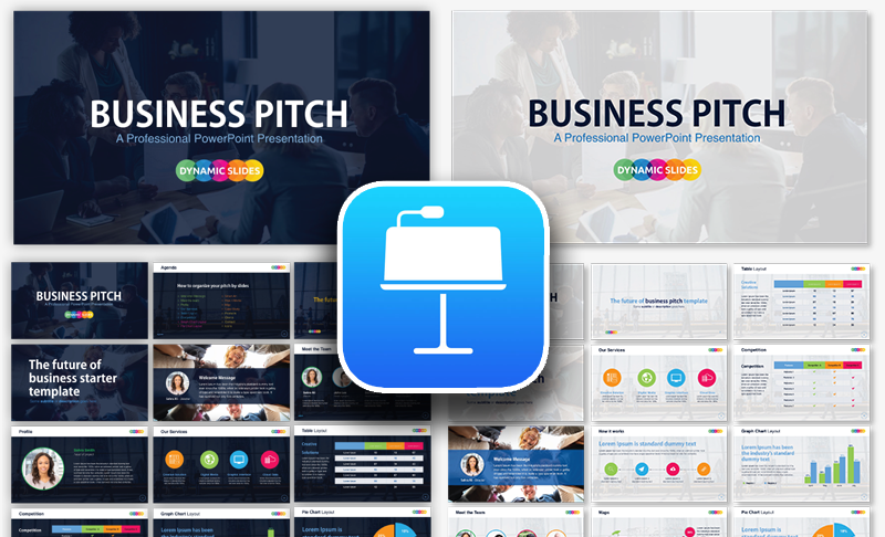 Free Pitch Keynote Template