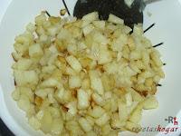 Papas y cebollas fritas