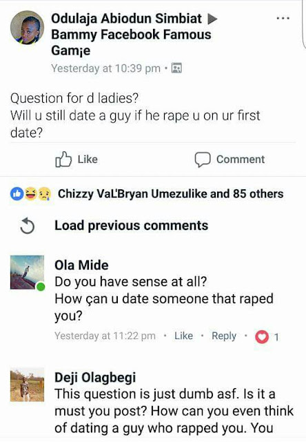 Photos: Young Nigerian man boasts about having raped four of his female friends on first dates