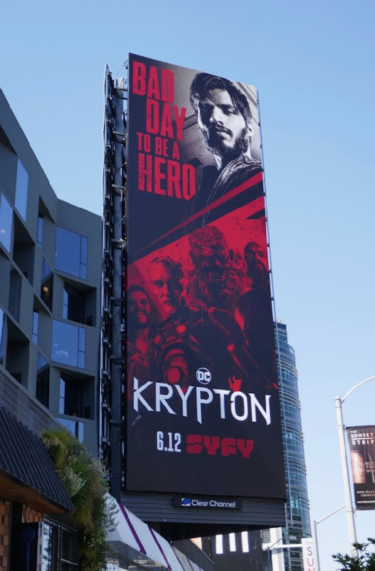Krypton season 2 Syfy billboard