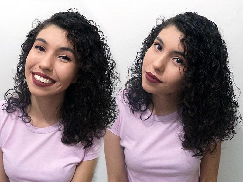 finalização cabelo ondulado salon line